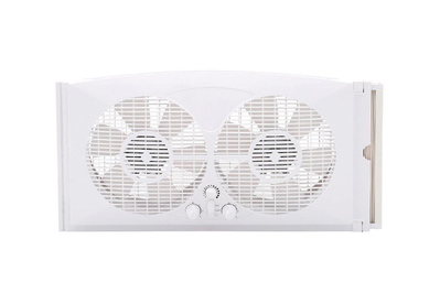 Pelonis 9-Inch Twin Window Fan