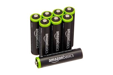 AmazonBasics AAA Rechargeables 8-Pack