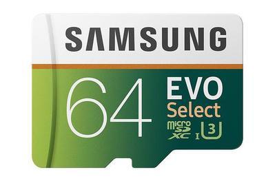 64 GB Samsung Evo Select