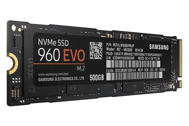 Samsung 960 Evo M.2 500 GB SSD