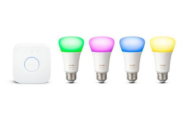 Philips Hue White and Color Ambiance A19 – Gen 3 4 Bulb Starter Kit